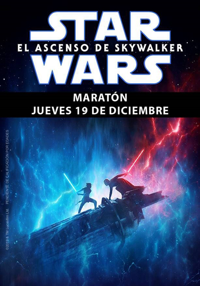 MARATON STAR WARS: EL ASCENSO DE SKYWALKER