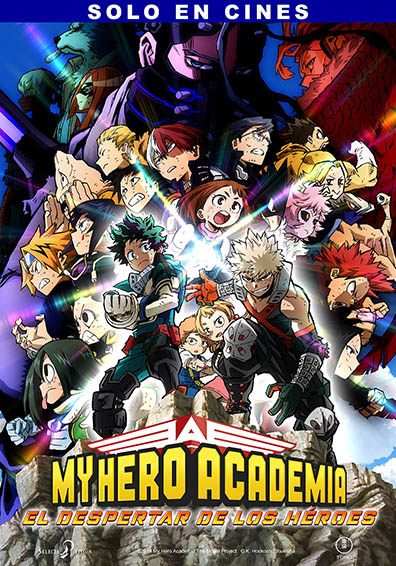 MY HERO ACADEMIA HERO RISING